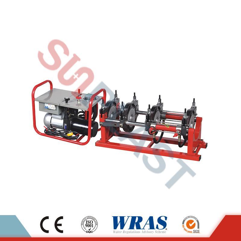 63-160mm Hydraulische het Lassenmachine van het Uiteindefusie voor HDPE-Pijp
